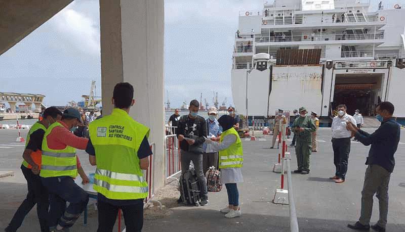 انطلاق أول رحلة بحرية من بني أنصار إلى فرنسا بشروط صارمة
