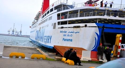 """استنفار بميناء بني انصار بعد اكتشاف حالات إصابة مؤكدة بـ """"كورونا"""" وسط مسافرين متجهين صوب فرنسا"""