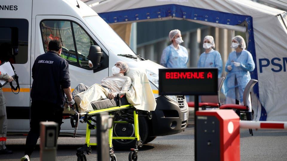 """فرنسا.. ارتفاع """"مقلق"""" في أعداد الإصابات والوفيات بفيروس كورونا"""