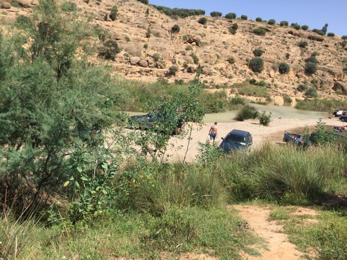 """درك الناظور يعتقل شابين خرقا شروط الاستجمام في """"حامة مولاي علي"""""""