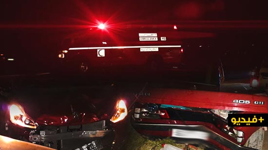 إصابة سيدة في حادثة سير خطيرة بجماعة بوعرك