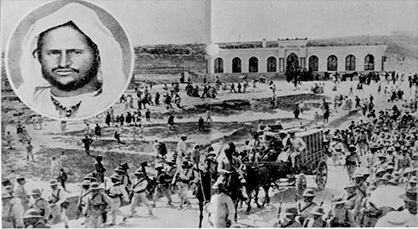 """عندما أهلك الاستعمار الاسباني في معركة """"اغزار ن اوشن"""" امام مقاومة الشريف محمد أمزيان"""