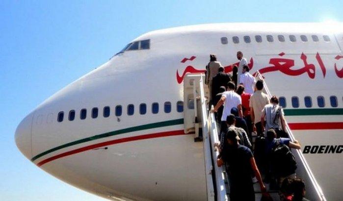 الخطوط الملكية المغربية تعلن رسميا وقف رحلاتها نحو المطارات الفرنسية