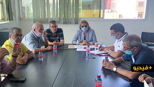 جماعة الناظور تجتمع مع هيئة المهندسين المعماريين بهدف النهوض بقطاع التعمير