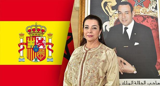 سفيرة المغرب بإسبانيا: أزمة كورونا عزّزت الشّراكة الإستراتيجية بين المغرب وإسبانيا