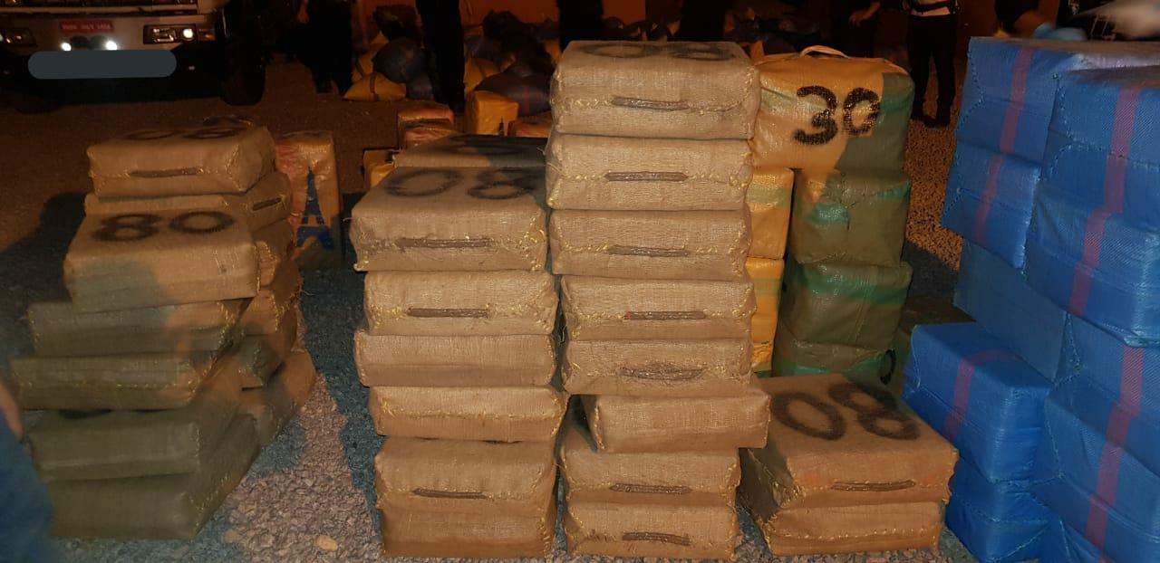 إحباط عملية تهريب المخدرات من شاطئ بوقانا