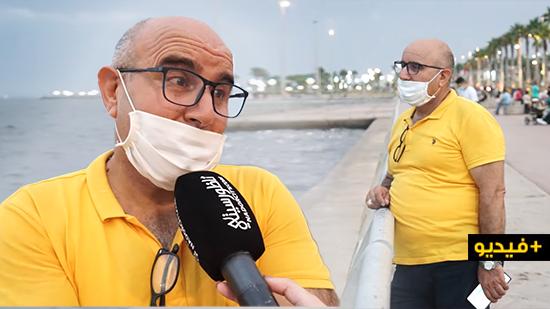 مهندس تركي بميناء بويافر منبهر بجمالية كورنيش الناظور ويوجه رسالة للساكنة