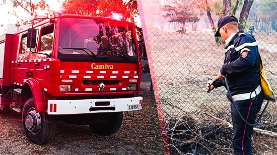 إندلاع حريق بغابة كوروكو والتعبئة لازالت متواصلة لإخماده