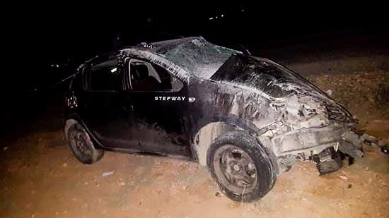 انقلاب سيارة كراء تخلف إصابة شابين بجروح متفاوتة الخطورة قرب الدريوش