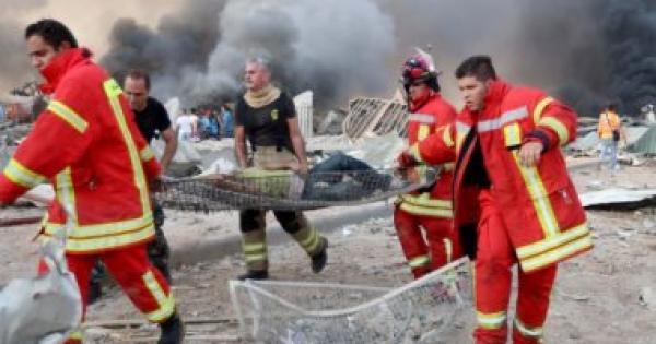 إصابة مواطنة مغربية في انفجار مرفأ بالعاصمة اللبنانية بيروت