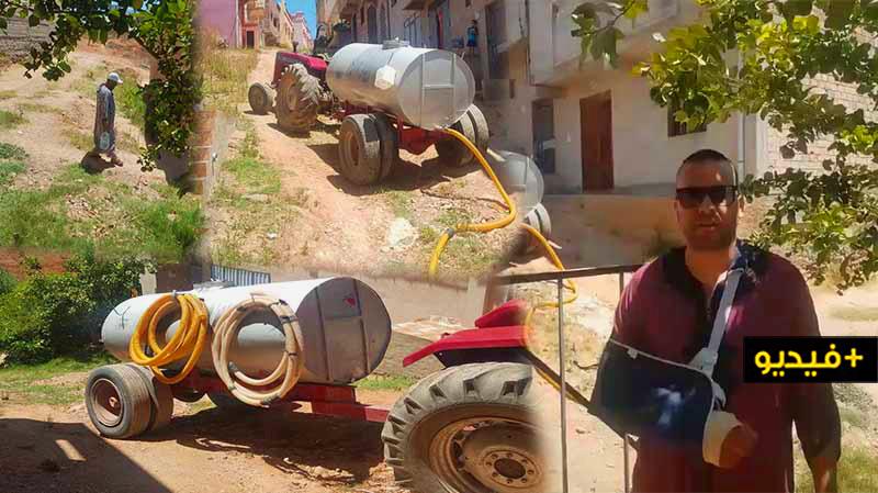 تمسمان.. أزمة عطش بكرونة بعد أزيد من أسبوع عن الإنقطاع التام للماء الشروب