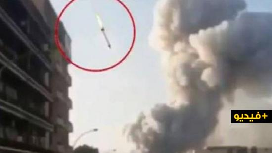 """هذه حقيقة """"الصاروخ"""" الذي هزّ مرفأ العاصمة اللبنانية قبيل الانفجار الدامي"""