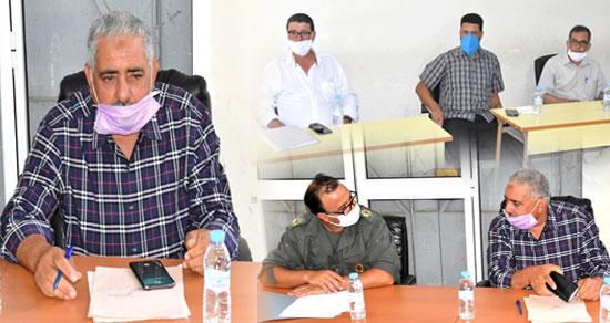 مجلس جماعة امطالسة يتدارس في دورة استثنائية اتفاقية بناء الطرق ومآل استكمال أشغال السوق الأسبوعي