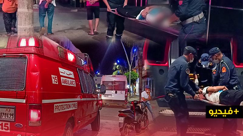 الوقاية المدنية تتدخل وتنقل شخصا أصيب بنوبة صرع إلى المستشفى الحسني بالناظور
