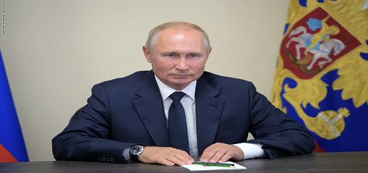 """بوتين يعلن اليوم الثلاثاء تسجيل أول لقاح مضاد لـ""""كورونا"""" ويؤكد: إبنتي تناولته"""