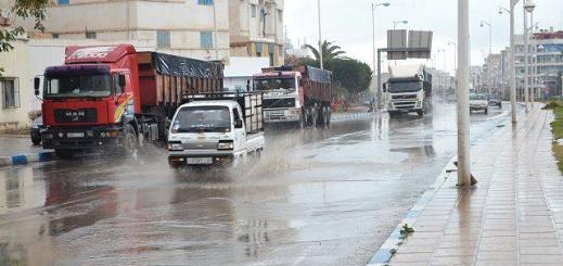 مديرية الأرصاد الجوية:  زخات رعدية قوية ستهم أقاليم الحسيمة ، الدريوش والناظور