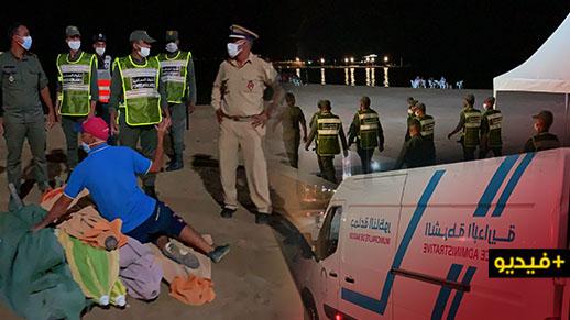 شاهدوا.. مناوشات بين السلطات العمومية والمواطنين خلال حملة لتحرير شاطئ بحيرة مارتشيكا