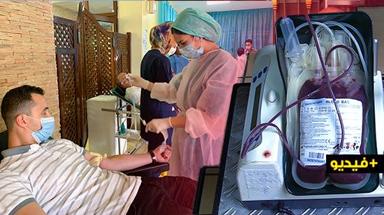 أزيد من 300 متبرع في يومين بمهرجان التبرع بالدم في نسخته الأولى بالناظور