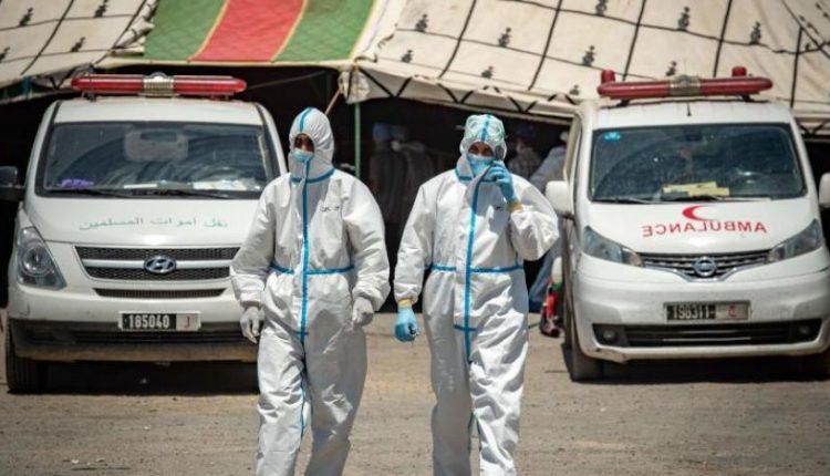 التوزيع الجغرافي لحالات الاصابة الجديدة بفيروس كورونا في المغرب