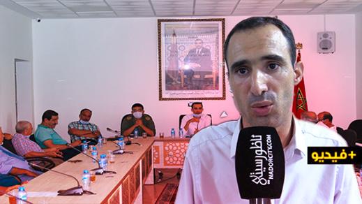 تحتوح يوضح أسباب منع المواطنين من حضور أشغال دورة مجلس جماعة بوعارك