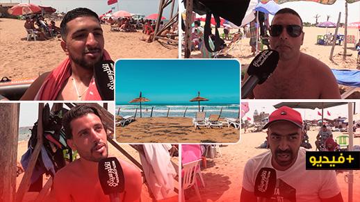 شاطئ السّعيدية.. المصطافون يُشِيدون بالأجواء العامّة وباحترام التدابير الوقائية