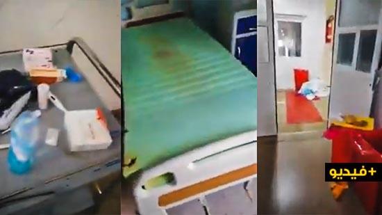 """مصابة بكورونا توثّق الظروف """"المزرية"""" لمرضى الجائجة بمشتشفى الفارابي بوجدة"""