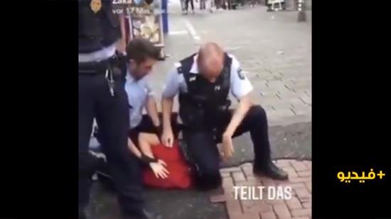 """ألمانيا.. الشرطة تحقق في فيديو اعتقال شابّ بطريقة """"جورج فلويد"""""""