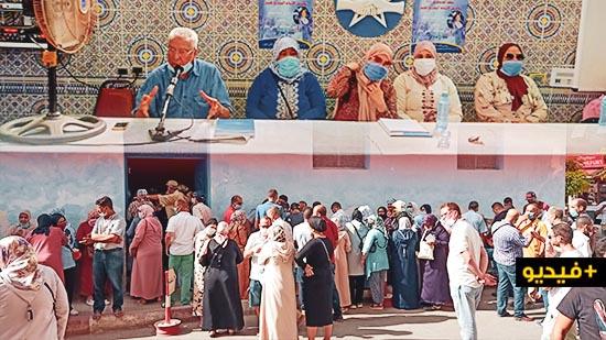 الإتحاد المغربي للشغل يناقش وضعية العاملات والعمال المغاربة حاملي رخص الشغل بمليلية بحضور عدد من المتضررين