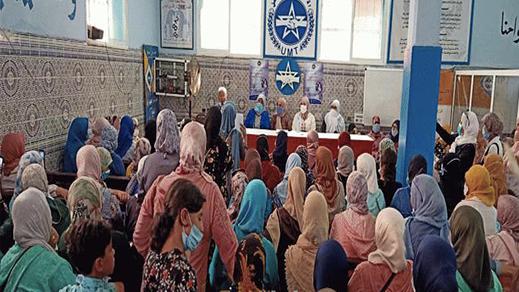 بسبب عدم احترام التدابير الوقائية.. نشطاء ينتقدون نقابة الإتحاد المغربي للشغل بالناظور ويعتبرون التجمع استهتارا بصحة المواطنين
