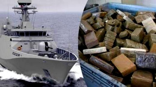 البحرية الملكية تحجز أزيد من 3 أطنان ونصف من المخدرات في أقل من 48 ساعة بعرض المتوسط