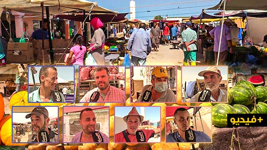 سوق بني شيكر الأسبوعي.. وفرة العرض أمام قلة الطلب بسبب أزمة الأسر بالمنطقة