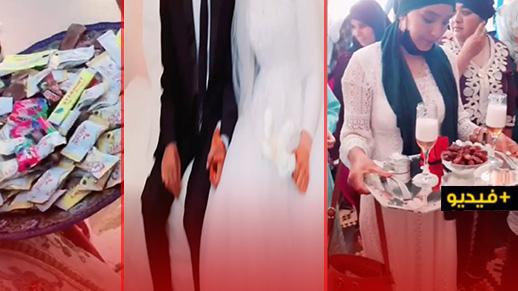 شاهدوا.. هكذا تمرّ أجواء حفلات الزفاف بقرى الريف في عزّ كورونا