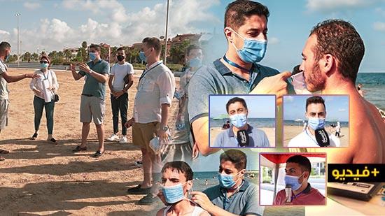 """جمعية """"سمايل"""" للثقافة بالناظور تنخرط في الحملة الوطنية للتصدّي لفيروس كورونا"""
