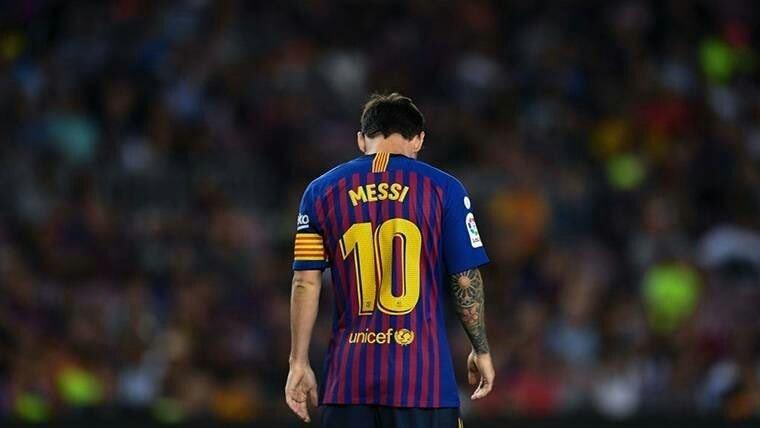 عاجل.. ميسّي يبلغ برشلونة رسميا بقرار مغادرته أسوار النادي