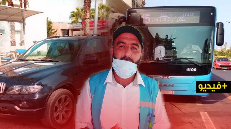 """مسؤول في شركة """"فيكتاليا"""" يشكو من استغلال السيارات لمواقف الحافلات ويطالب بتدخل السلطات"""