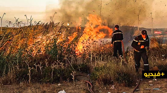إندلاع حريقين متفرقين وسط حي المطار يستنفر السلطات المحلية وعناصر الوقاية المدنية