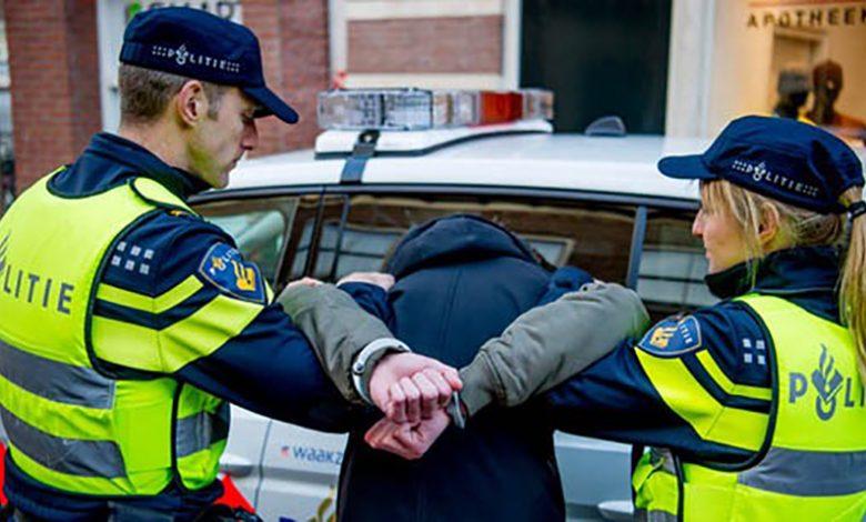 اعتقال لاجئ مغربي بهولندا ارتكب أكثر من 500 جريمة مختلفة