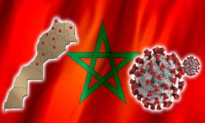 هذا هو التوزيع الجغرافي للإصابات بكورونا بالمغرب