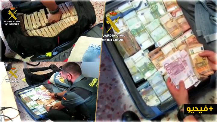 الشرطة الإسبانية تحجز مليونا و 400 ألف أورو داخل سيارة قادمة من بلجيكا