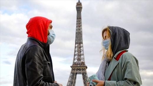تسجيل 9000 إصابة جديدة بفيروس كورونا خلال الـ24 ساعة الأخيرة بفرنسا