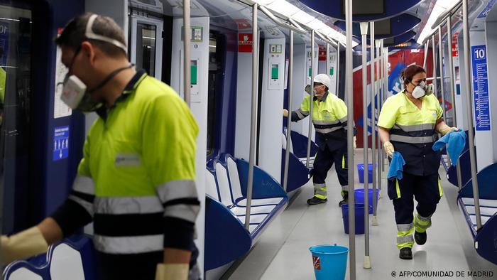 ثلثها في جهة مدريد.. عدد الإصابات بكورونا في إسبانيا يتجاوز حاجز الـ500 ألف حالة