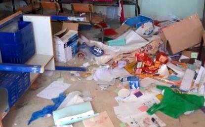 تخريب وحدة مدرسية في الحسيمة ورجال الدرك يوقفون ستة مشتبه فيهم