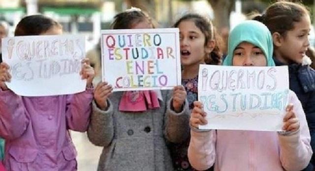 كورونا يحرم تلاميذ مغاربة من الالتحاق بمدارسهم في مليلية وسبتة المحتلتين