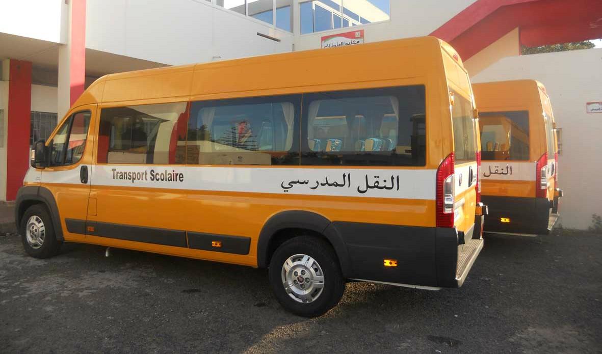 """اخضاع جميع سائقي حافلات النقل المدرسي بإقليم الدريوش للتحاليل المخبرية للكشف عن """"كورونا"""""""
