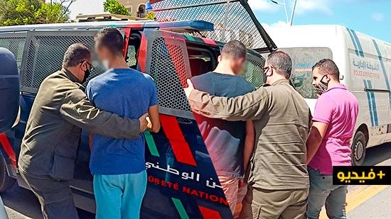 السلطات الأمنية بالناظور تستمر في توقيف مخالفي قرار إجبارية ارتداء الكمامة