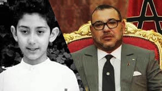 الملك يعزي أفراد أسرة المرحوم الطفل عدنان بوشوف