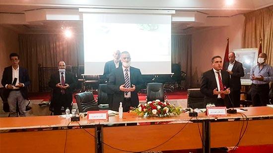 المجلس الإقليمي يصادق بالإجماع على نقاط دورة شتنبر العادية