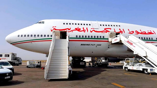 طائرة تابعة للخطوط الملكية المغربية على متنها 139 راكبا كادت أن تتسبب في كارثة