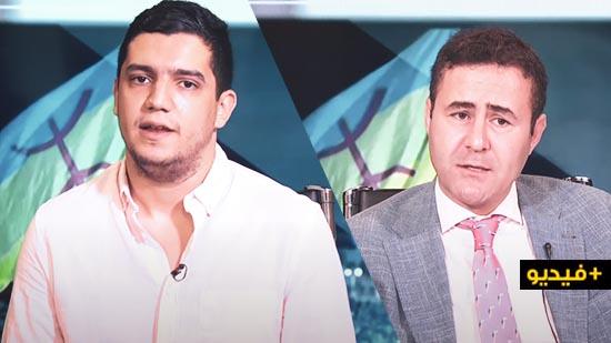 """شاهدوا.. محمد المنتصر يعرف بمبادرة """"واه نزمار"""" في لقاء صحفي على قناة """"مغرب تيفي"""""""
