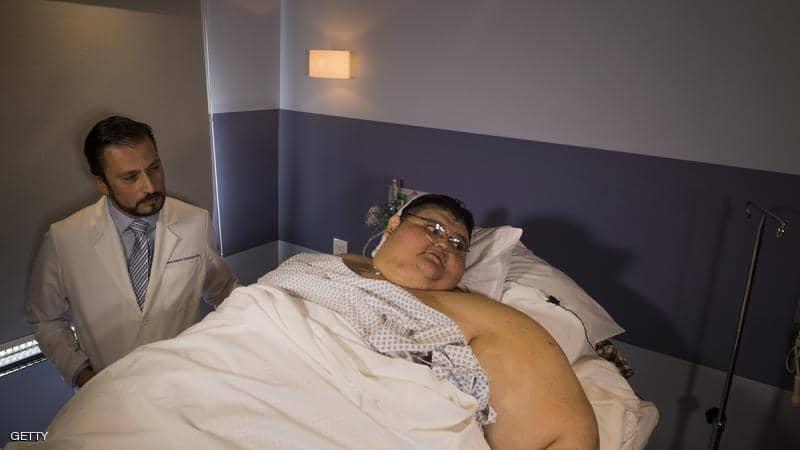 رغم معاناته من عدة أمراض مزمنة.. هكذا قاوم أضخم رجل في العالم فيروس كورونا